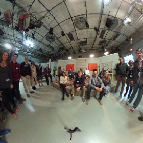 Thanks to UNC-TV for giving us a tour of their studios! We had a ton of fun today! @UNCTV #theta360