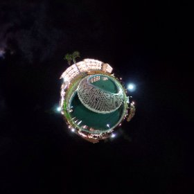 リゾートプールプラネット #theta360