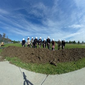 Great day for a groundbreaking at the Kroc Center Omaha. #theta360