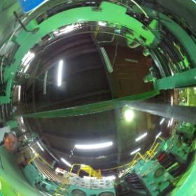 西山紙器工場内360度パノラマ映像 #theta360