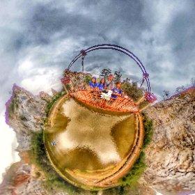 360 spherical  Khao Ngoo Rock park is a national Park in Ratchaburi where you will find mountain climbing rocks,  lake and nature walk, SM hub https://goo.gl/SJaNqZ BESH HASHTAGS #KhaoNgooRockpark  #ZoneRatchaburi   #butterfly3d #theta360