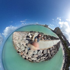Yea, I could get used to this... #aruba #theta360