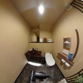 けやき通り歯科クリニックの御手洗い #theta360