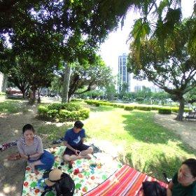 公園野餐 #theta360