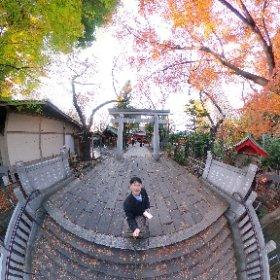 #momiji3d 12/12 東京 愛宕神社 #theta360