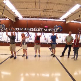A grateful weekend of training at Lancaster Archery.  #theta360