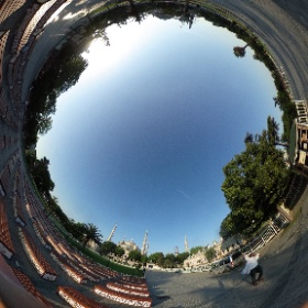 Blue Mosque and Ayasophia #Istanbul360 #LifesAjourney #sky #theta360