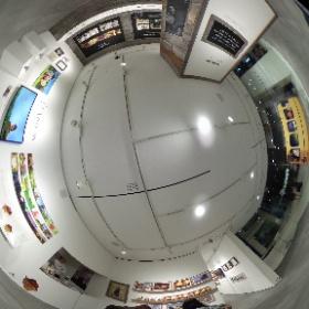 トンコハウス展でシータ1 #theta360