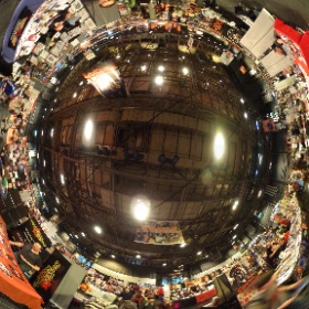 Comic village at MCM comic con Glasgow SECC September 2016  #theta360 #theta360uk