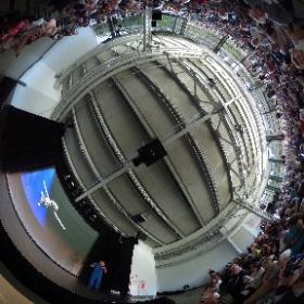 20 juillet 2018 - Centre des Sciences de Montréal Causerie donnée par David Saint-Jacques astronaute de l'ASC  partageant des détails de sa prochaine mission à bord de la Station Spatiale Internationale en décembre 2018