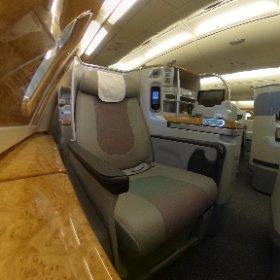 Emirates A380 Business Class - Window