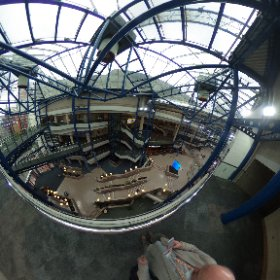 @icc_birmingham in 360 degrees, ready for #digifest17 visitors! #theta360