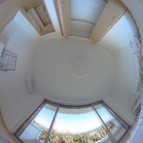 糸島の海が見える家:寝室