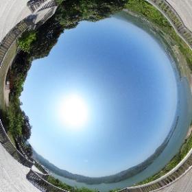 久美湾 かぶと山展望台 #theta360
