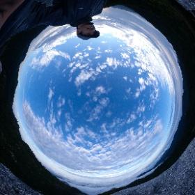 黒味岳山頂   屋久島を自由に旅する GREEN MOUNT  #theta360