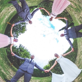 Experimenting with the 360° rig at weddings. What do you think?