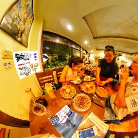 Barcelona Gaudi Restaurant is a bona fide spanish Tapas menu in Suk Soi 23 Bangkok, boutique size on three levels including front courtyard, come and try lunches and diner, SM hub https://goo.gl/EcAJYG   #butterfly3d #theta360