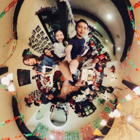 TDA Christmas Party #theta360