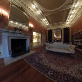 WENTWORTH WOODHOUSE: The library and study long room inside The Wentworth Woodhouse stately home at Wentworth, on the Rotherham and Barnsley border in South Yorkshire, UK. #theta360 #theta360uk