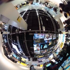 The Nikon booth is immersive. #photokina