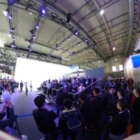 Le stand #Samsung à 360 degrés