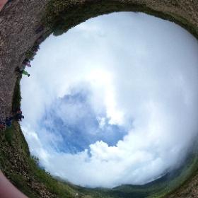 1. 上州武尊山山頂にて。 #theta360