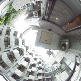 コスモシティ市ヶ谷 216号室 バルコニー #theta360