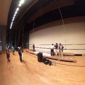 枕崎少年少女合唱団定演準備 #theta360