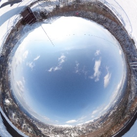 北海道 層雲峡 大雪山系 黒岳 五合目展望台からの眺め 2017.03.02撮影