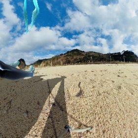 カテゴリー5のミクさんが海岸に現れた…!? #miku360 #theta360