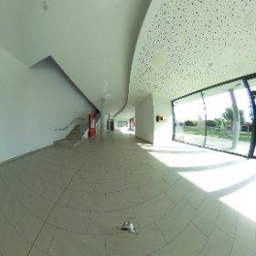Eingangshalle Mehrzweckhalle #theta360