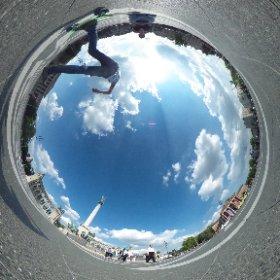 Heroes' Square (Budapest) #theta360