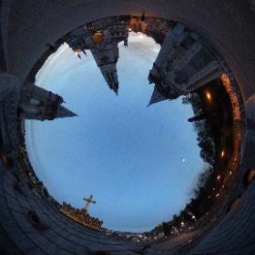 Sanctuaire de Lourdes #theta360fr