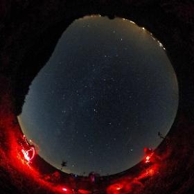 Am Sternenweg Großmugl mit project nightflight / Picknick auf der Sternenwiese