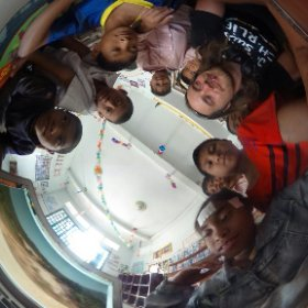 I Believe we can Fly! project. Workshop with the children in NGO Via Del Campo, Sihanoukville - Ccambodia #theta360
