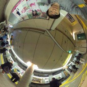 乃木坂46のドラマ「初森ベマーズ」宣伝ポスターの東京メトロ12駅掲示の恵比寿駅・高山一実です。