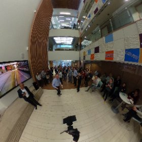 Photosphere view of our team at @atbfinancial welcoming Charaka, our new head of digital!