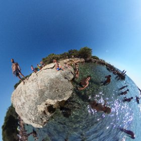 Porto Selvaggio with friends in 360 - Salento #theta360 #theta360it