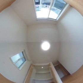 福岡町一戸建て3LDK新築 2階西洋室 #theta360