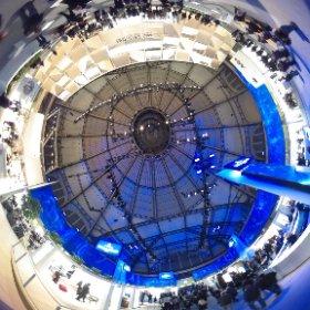 Vielleicht die beeindruckenste Messehalle weltweit: Festhalle #ish15