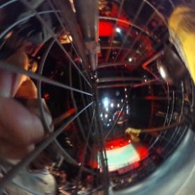 檻の中も撮ってみた。開始前しかできんねw  #theta360
