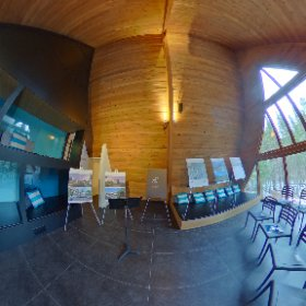 ...Siberia des bois juste avant le point de presse en 360° #theta360