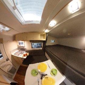 Die Nordstar Eco 200 B Wohnkabine ist kompakt und familientauglich. Alle Infos findet Ihr auf www.nordstar.de #theta360 #theta360de