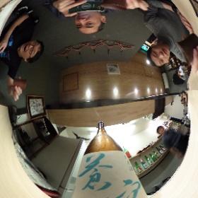 何故か京都でTHETAチームと合流! #theta360