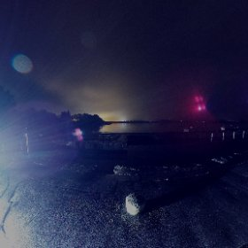 Night on the Pier | Oughtetard 15th March 2018 | #fyrefly3d #theta360