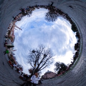 Sultanahmet Square Istanbul Turkey Day #theta360