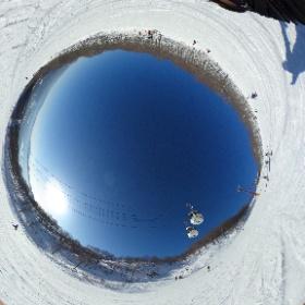 高鷲スノーパーク #snow3d #theta360
