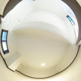 横浜市西区、桜木町駅も徒歩圏内の新築賃貸アパート「クレセール横浜」の広いロフト写真です!仲介手数料無料のお問い合わせ先は、03-5806-3123(担当:中村)まで! #theta360