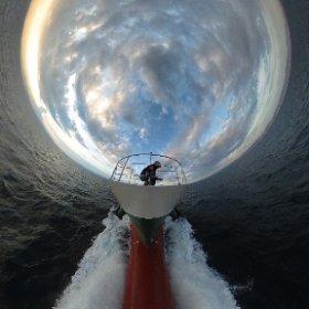 堺から和歌山へ走ってます。 #内航 #内航船の日 #theta360