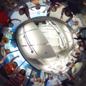 360 Photo Sphere of 2014 SouthWIRED team excited about name change from Digital Atlanta #digatl #theta360